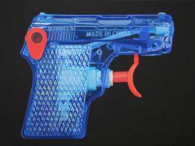 Blue Pistol